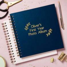 Personalised 'My First Year' Photo Album