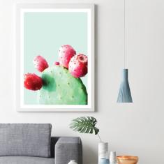 Prickly pear cactus #1 art print (various sizes)
