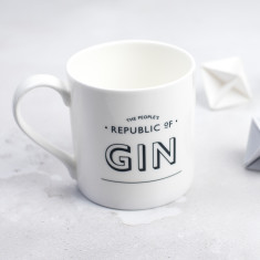 The People's Republic of Gin Bone China Mug