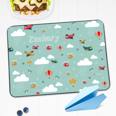 Flying high personalised placemat