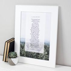 Personalised Daddy Poem Print
