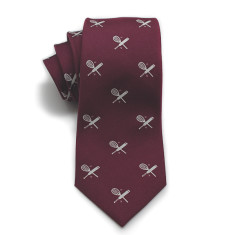 Sports club silk tie