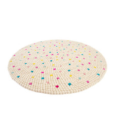 Sprinkles felt ball rug