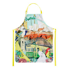 Australiana Cotton Apron