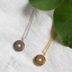 Over the rainbow pendant