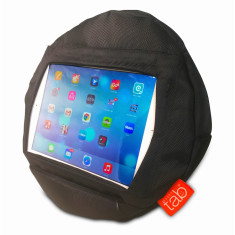 HAPPYtab iPad Cushion in Black Extreme