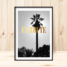 En route to paradise art print