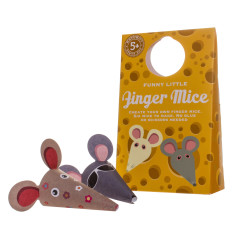 Funny Little Finger Mice finger puppet kit