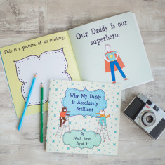 Why my daddy is brilliant personalised book