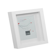 Square shadow box frame (two sizes & two colours)