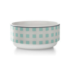 Squares stacking bowl in mint