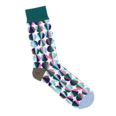 Loco multi-colour spot socks