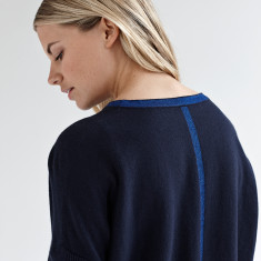 Navy sparkle jumper