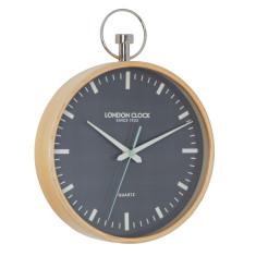 London Clock Company Loft Silent Sweep Wall Clock