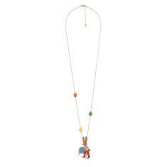 Drum Player Rabbit Necklace