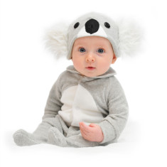 Lil' Koala baby & toddler costume with hat