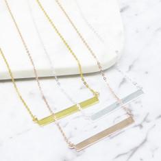 Bar Necklace (Various Colours)