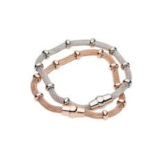 Magnetic mesh bracelet