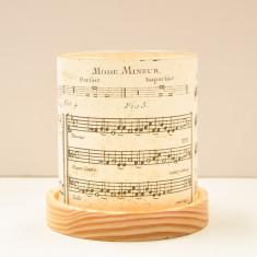 Glass Lantern (Mini) - Vintage Music