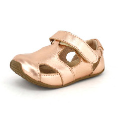 Sunday sandals in rose gold