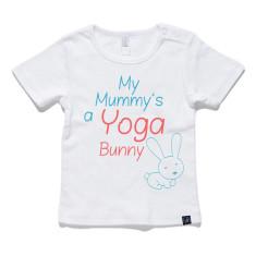 Yoga Bunny Baby Tee