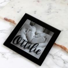 Personalised Baby Mini Photo Coaster