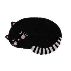 Feline fine door mat