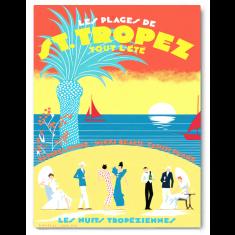 St Tropez canvas