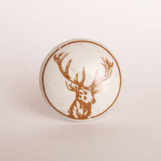 Stag knob/drawer pull