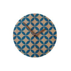 Objectify Star Pattern Wall Clock