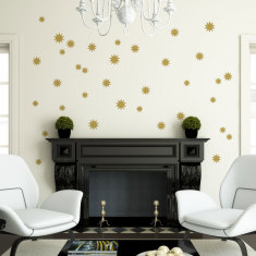Stars wall decal