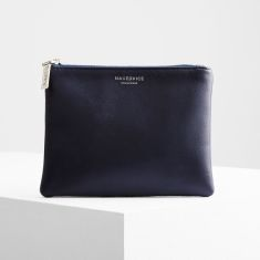 The base navy wallet