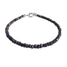 Peacock Pyrite Bracelet