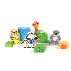 Tidlo wild animal magnets