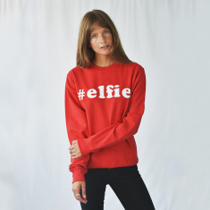 Elfie Christmas Unisex Jumper Sweats
