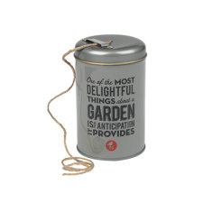 The Thoughtful Gardener Garden string in a tin