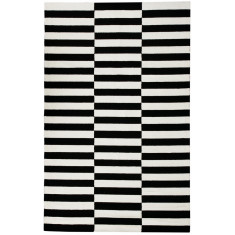 Stripe outdoor rug