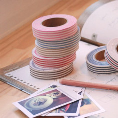 Fabric tape in stripes (various colours)