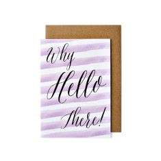 Why hello greeting cards (pack of 5)
