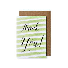 Thank you greeting cards (pack of 5)