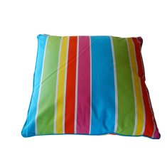 Stripe cushion with insert