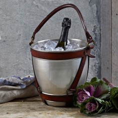 Personalised Nickel Wine Cooler