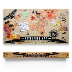 Travel Pack (adventure cork map + chalkboard roll)