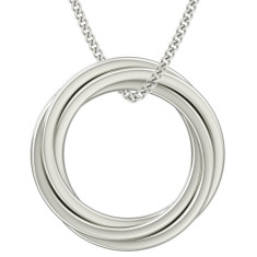 Engravable the Catherine Russian rings necklace