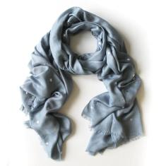 All stars scarf in Charcoal