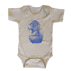 Brocky bear onesie (various colours)