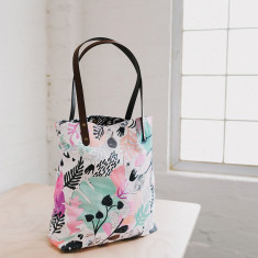Jungle day tote bag