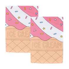 Woouf Kitchen Tea Towel Ice Cream (pack of 2)