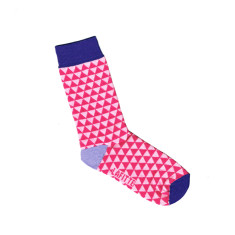 Lafitte kids small triangle pattern socks (various colours)