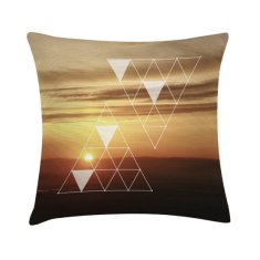 Sunset scatter cushion